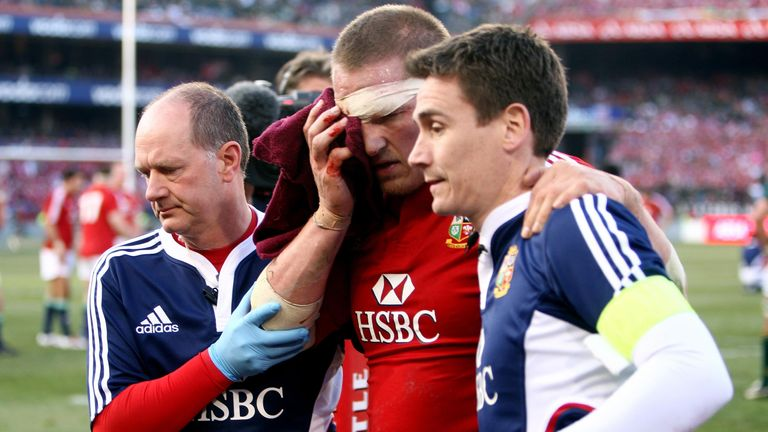 The second Test in South Africa in 2009 remains the most physical match Robson has seen