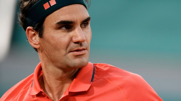 Roger Federer is preparing for the grass-court tournament in Halle where he has a 68-7 record, including 10 titles