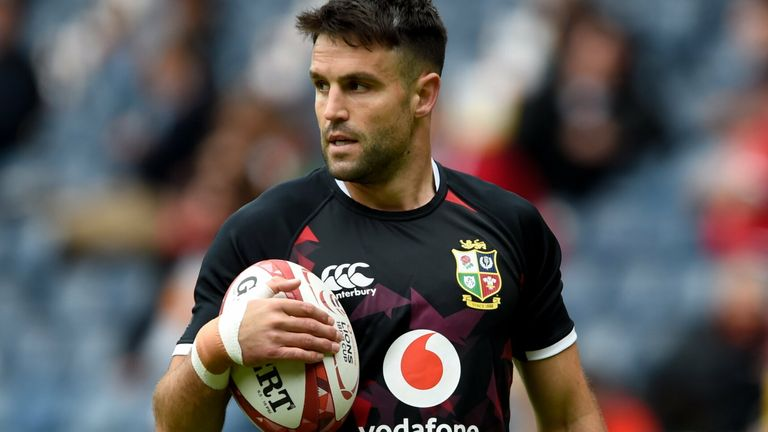 Conor Murray reveals how Alun Wyn Jones offered him some words of advice after being named as his replacement as skipper for the Lions tour to South Africa