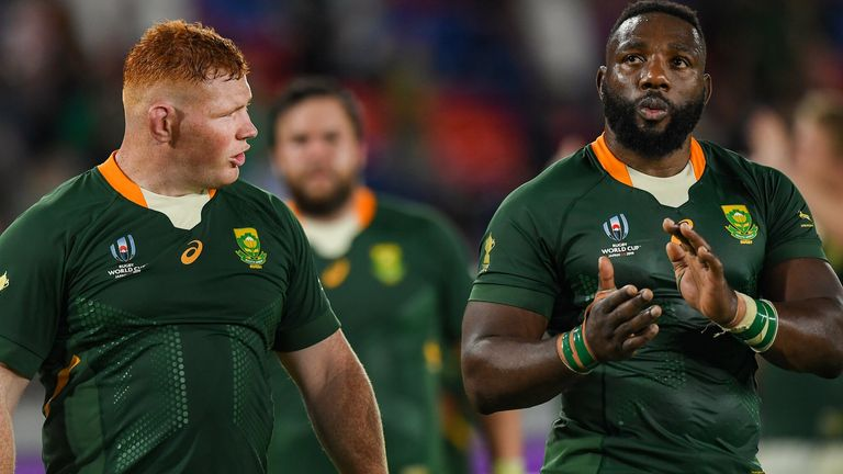 British and Irish Lions: South Africa mainstay Steven Kitshoff relishes Tadhg Furlong reunion |  Rugby Union News