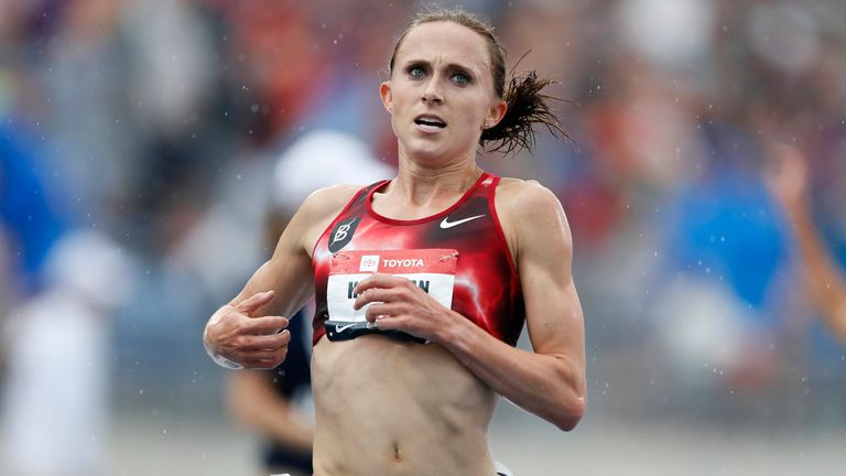 Shelby Houlihan is currently serving a four-year ban for testing positive for an anabolic steroid