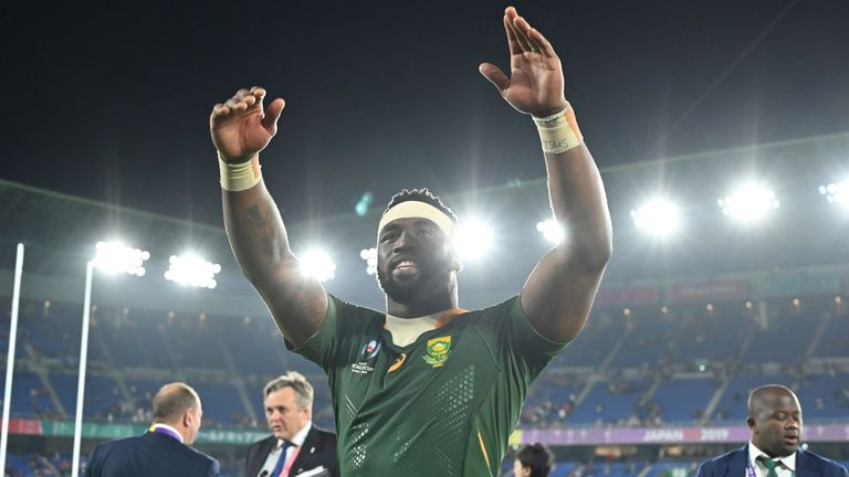 Siya Kolisi's story is one of hope in South Africa, having grown up in extreme poverty before going on to become the Boks' first Black captain in history