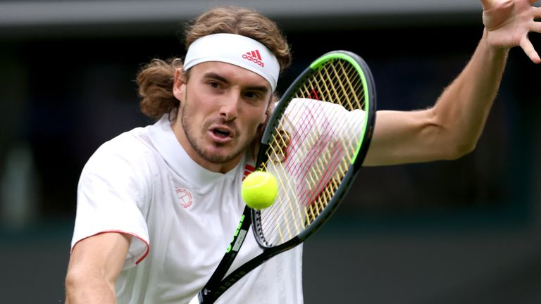 Stefanos Tsitsipas, Murray's opponent in the US Open first round, says he will only be vaccinated if it becomes mandatory