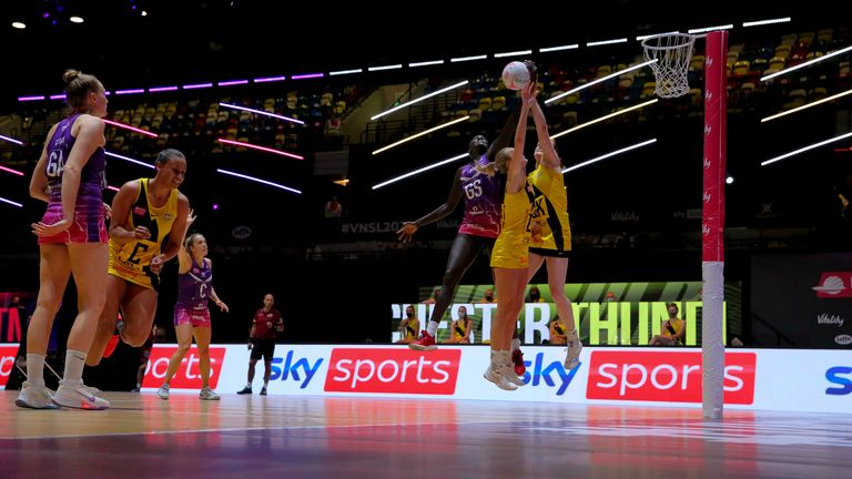 In Round 19, Manchester Thunder sent out a warning to all of the other semi-finalists about their form (Image credit - Ben Lumley)