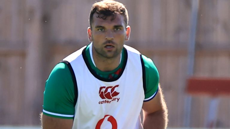 Tadhg Beirne will start at No 6 for the Lions against Japan this weekend