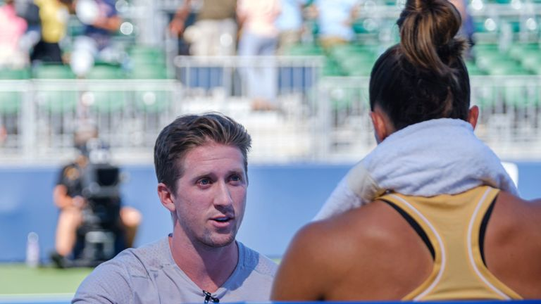Tom Hill and Maria Sakkari have been working together since 2018