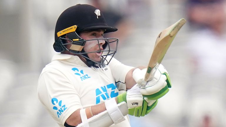 Tom Latham stepped in for Kane Williamson as captain and led New Zealand to a memorable win at Edgbaston