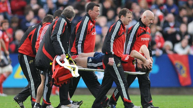 O'Leary suffered a broken leg and ankle just days after the 2009 Lions squad announcement