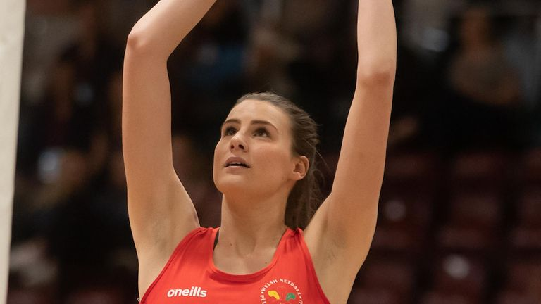 Wales Netball are preparing for a Test match against South Africa (Image credit - Sporting Wales)