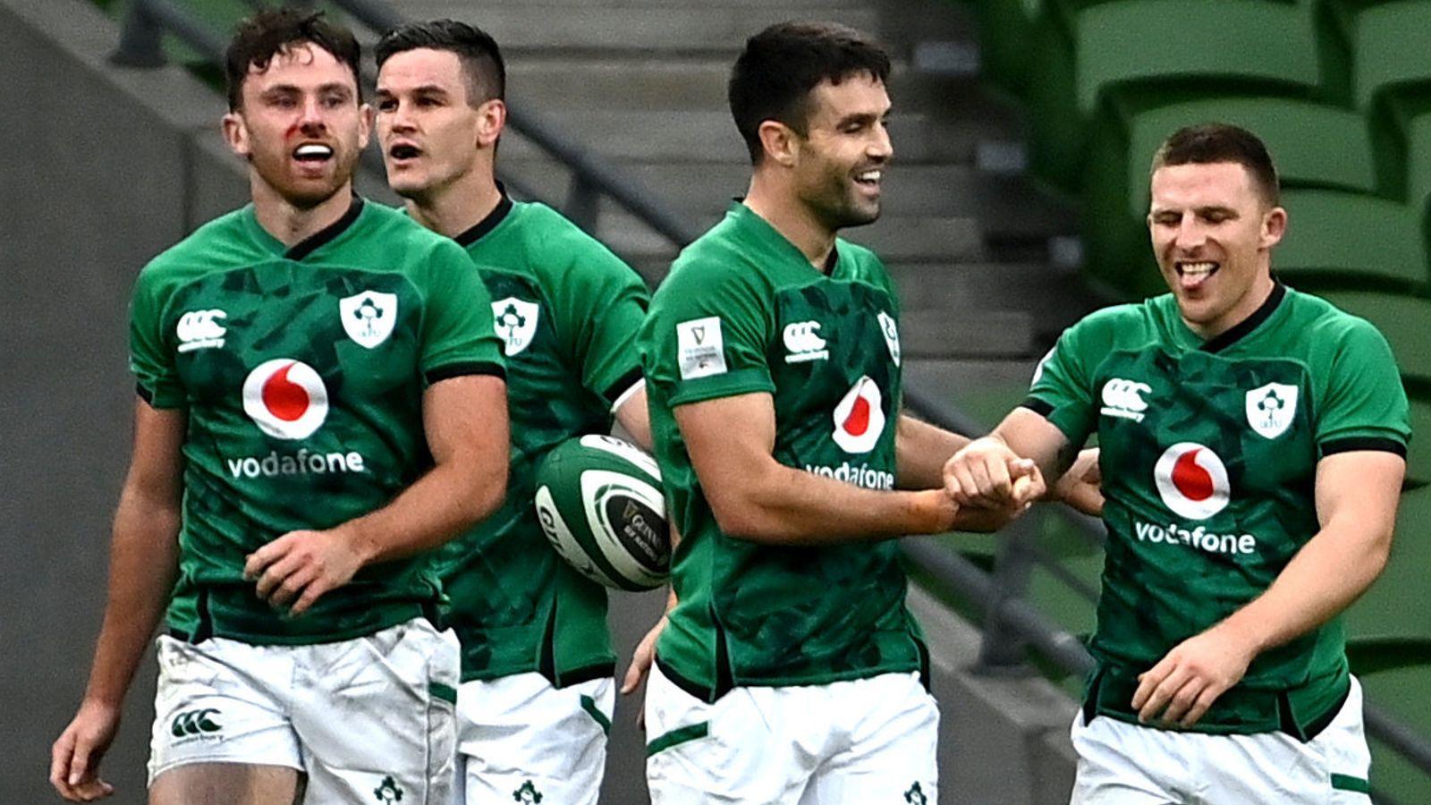 Ireland to host autumn internationals against New Zealand, Argentina and Japan