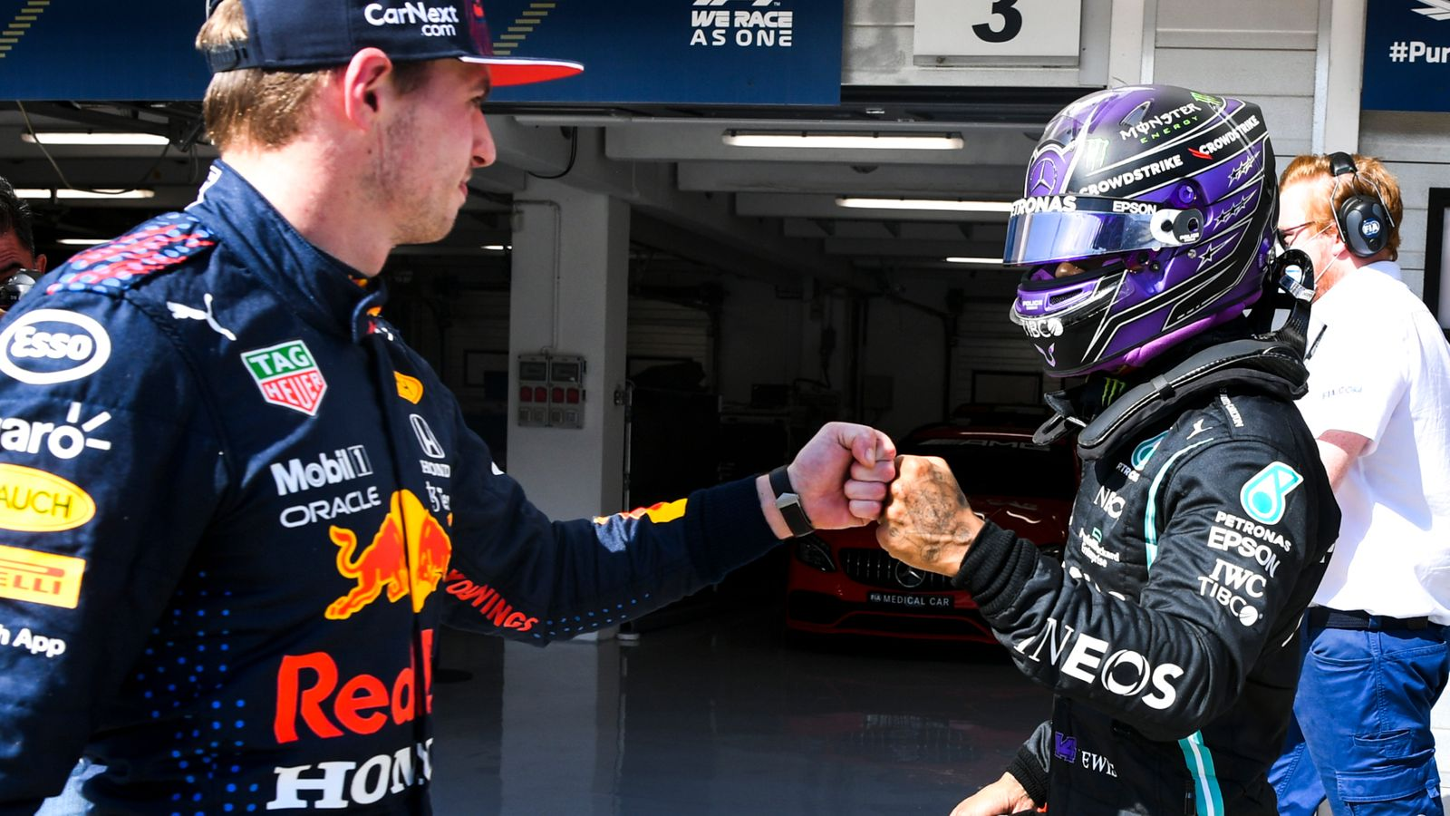 Hungarian GP Qualifying: Lewis Hamilton again on F1 pole with Max Verstappen third on grid