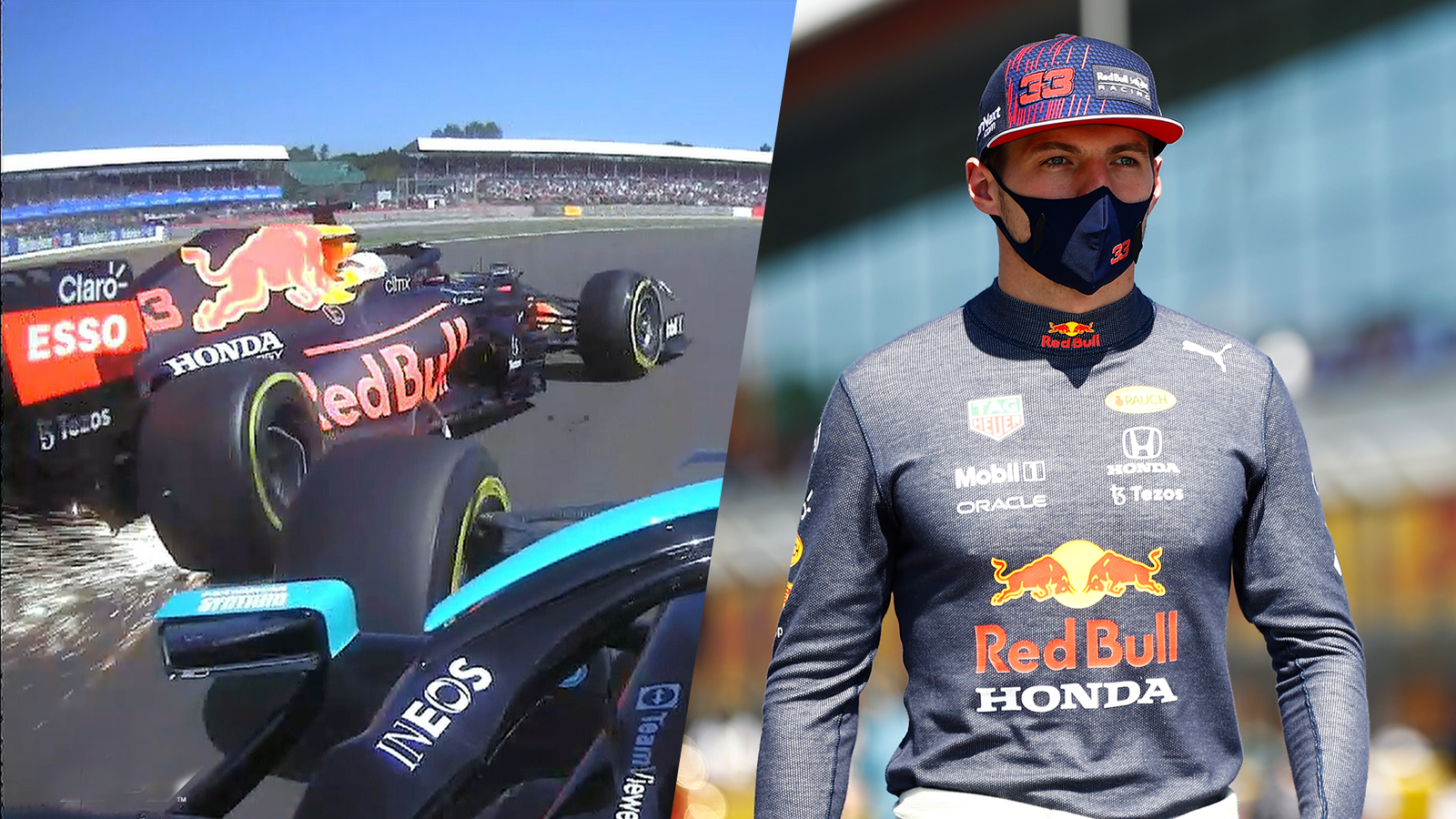 Max Verstappen crash repair bill £1.3m say Red Bull, as they continue to mull request to review Lewis Hamilton penalty