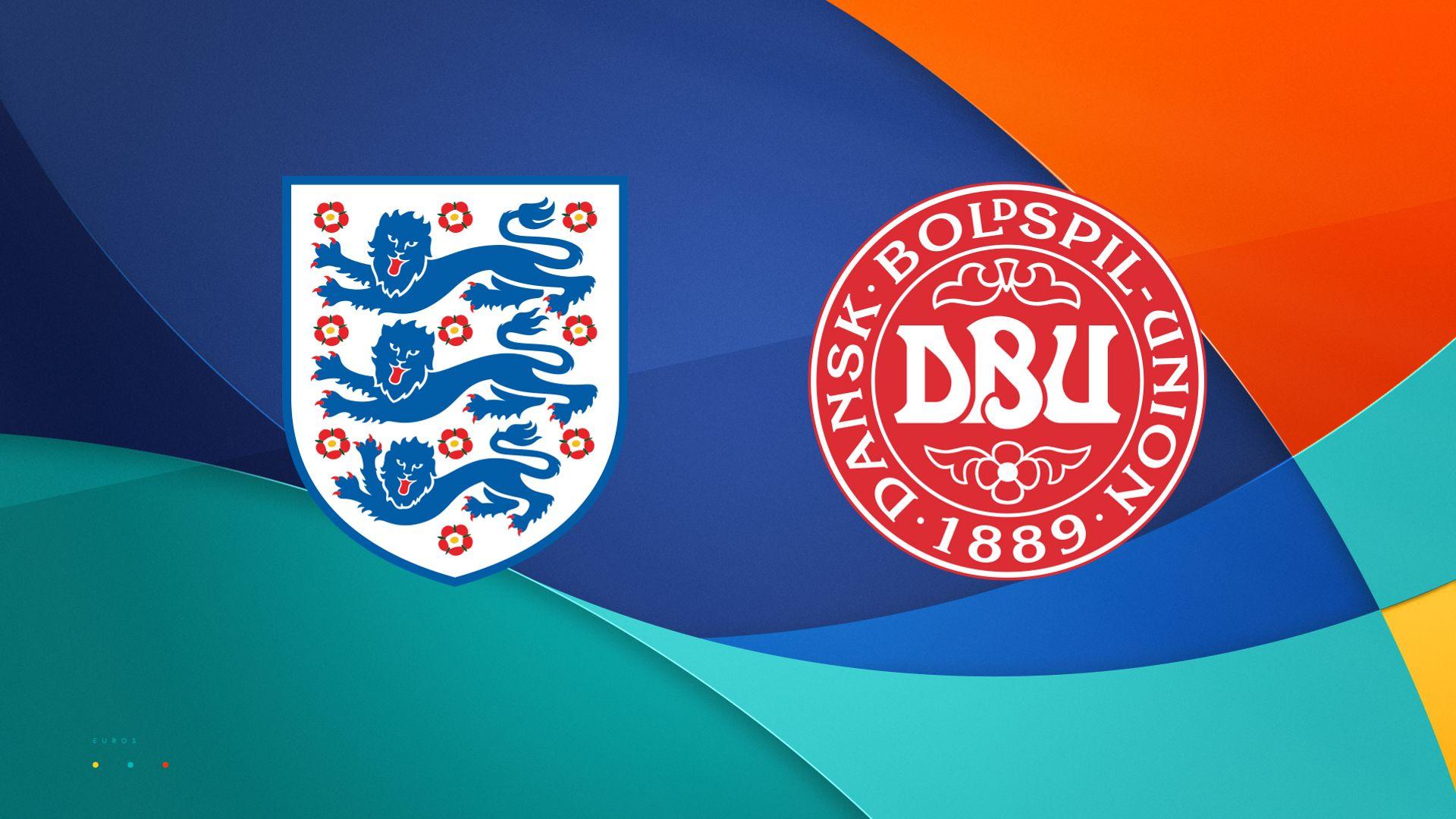 Stats companion: England vs Denmark