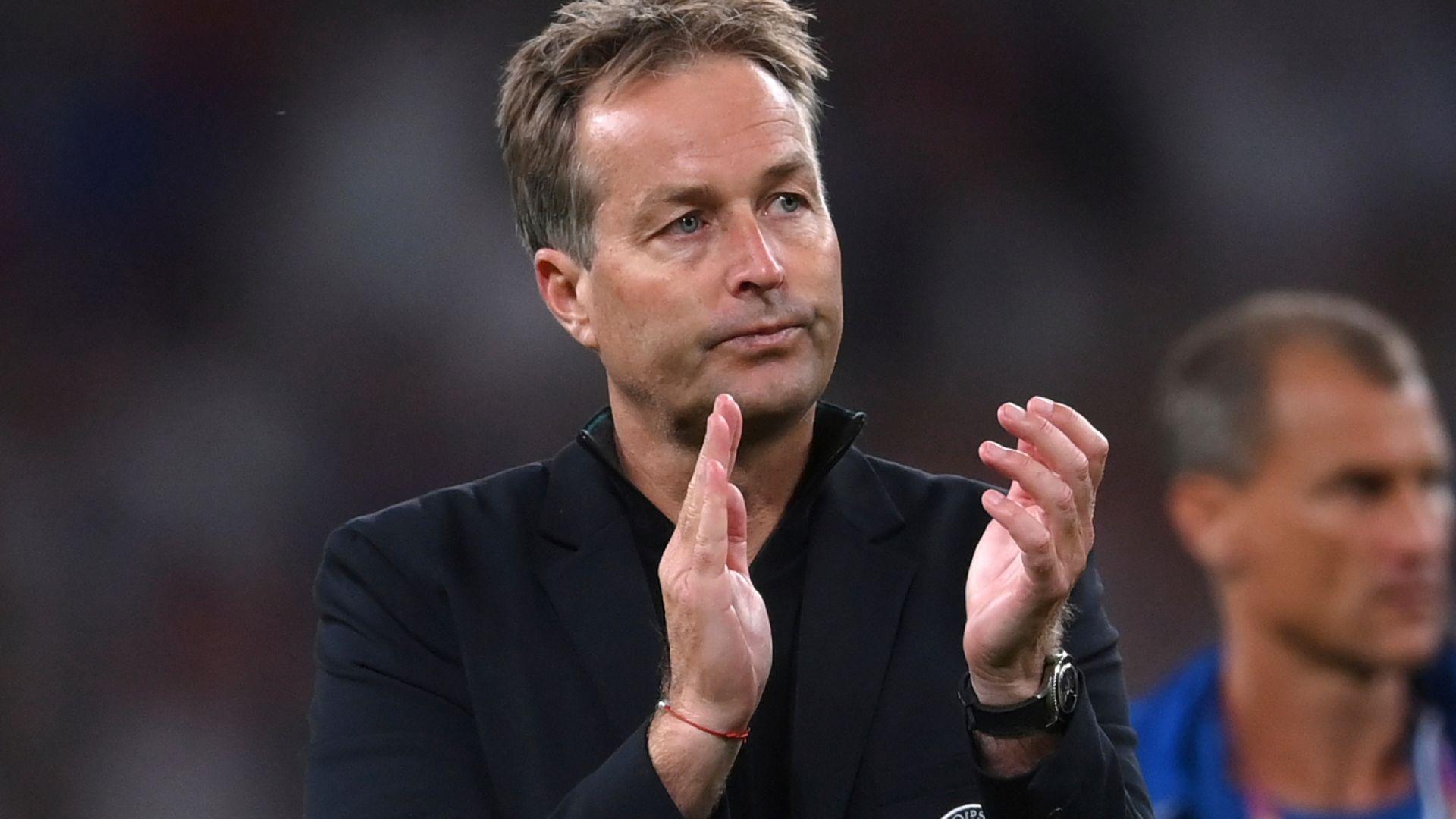 Denmark boss Hjulmand 'bitter' over penalty call