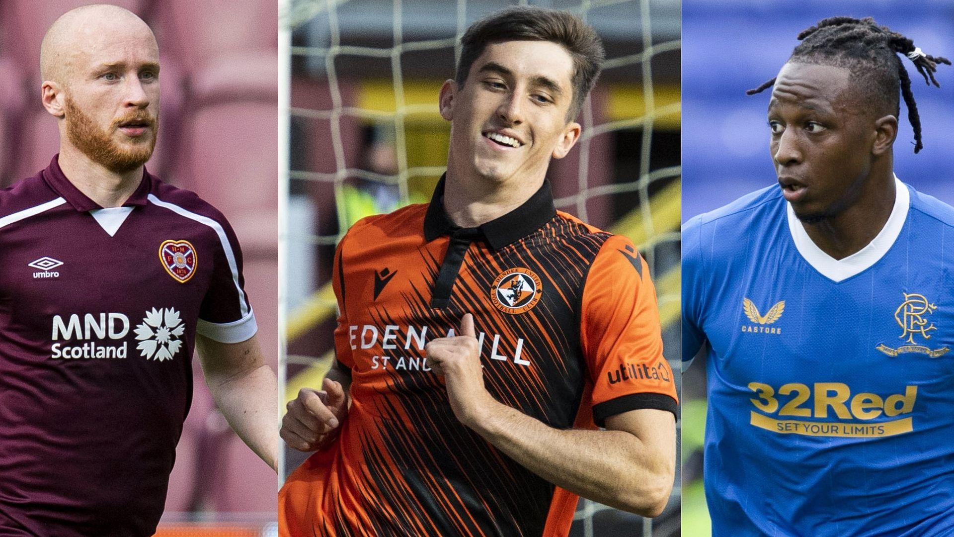 Scottish Premiership home kits for 2021/22