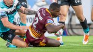 Super League: Ian Watson reveals injury fears for Jermaine McGillvary in four tries for Huddersfield Giants |  Rugby League News