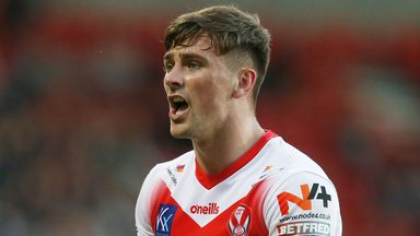 Lewis Dodd is set for an opportunity to start when St Helens travel to Hull FC