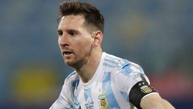 Lionel Messi helped fire Argentina into the Copa America semi-finals