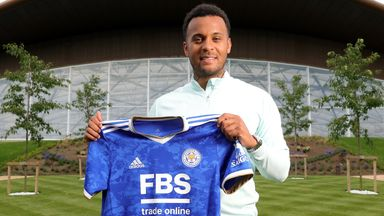 Ryan Bertrand has joined Leicester City on a two-year contract
