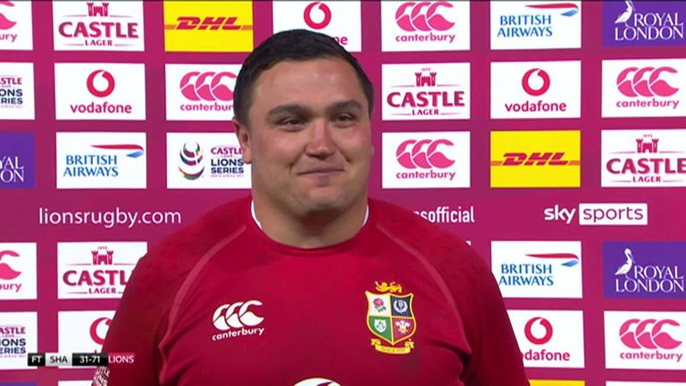 Captain Jamie George says his Lions team can learn a lot from their hard-fought victory over the Sharks