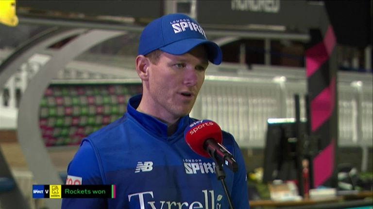 Eoin Morgan was full of praise for The Hundred and the positives coming out of it that he believes is benefiting the women's game, and bringing forth new stars