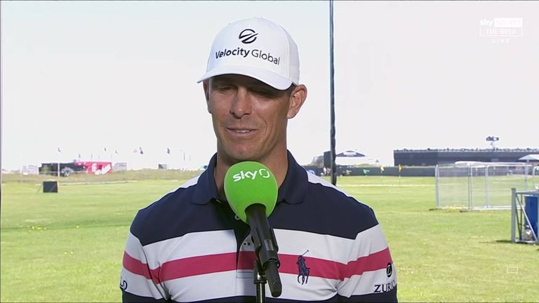 Billy Horschel admitted he wasn't sure whether he would be able to continue at The Open after experiencing bouts of dizziness during his second round
