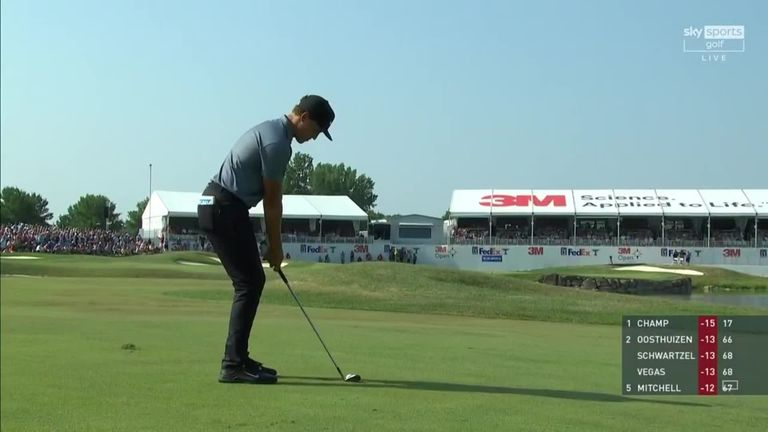 A look back at highlights from Cameron Champ's final round at the 3M Open, where a bogey-free 66 was enough to register a third PGA Tour title.