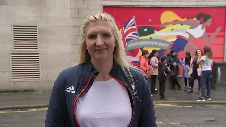 Double Olympic gold medallist Rebecca Adlington says success at the Euros and the Olympic Games can help lift the mood of the nation during the Covid pandemic