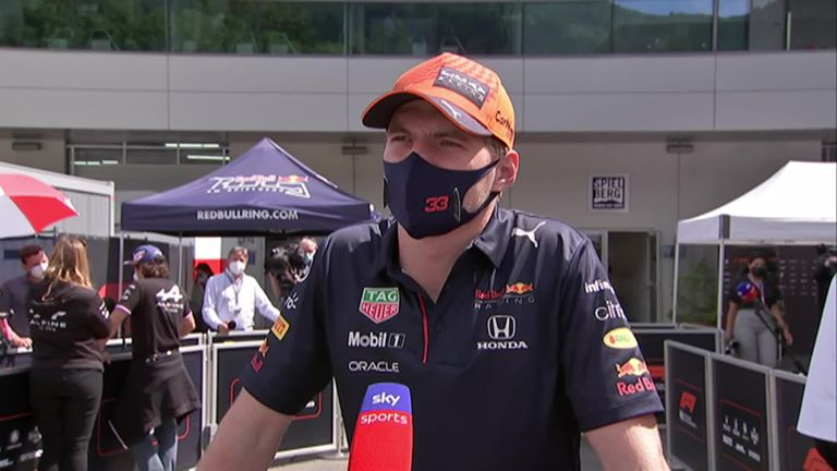 Max Verstappen thinks it will be 'a bit more difficult' for the second race at the Red Bull Ring after other teams will learn and improve from the Styrian GP.