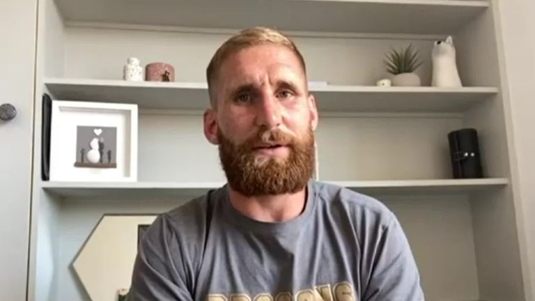 England international Sam Tomkins says Australia and New Zealand's decision to pull out of the Rugby League World Cup has come at a strange time, with the tournament not due to start until late October
