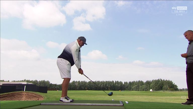 Former Open champion Darren Clarke heads into The Open Zone to offer advice on how to hit the stinger and explain on why it's a useful shot to have available when playing links golf.