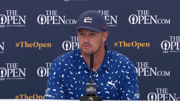 Bryson DeChambeau says he would 'love' to be paired with Brooks Koepka for the USA in the Ryder Cup in September despite their ongoing feud