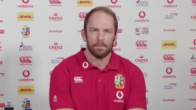 British and Irish Lions captain Alun Wyn Jones says the squad are in South Africa to win the Test series, and insists his rapid recovery from dislocating his shoulder wasn't solely down to him