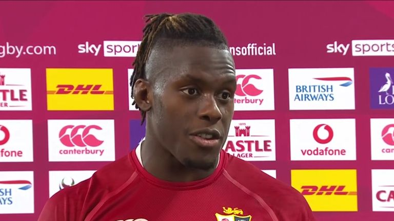 Following the Lions' first Test win over South Africa, Maro Itoje says these moments don't come around often and it's a privilege to wear the jersey