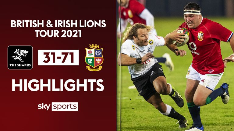 Highlights from the Cell C Sharks against the British & Irish Lions in the third match of the tour of South Africa