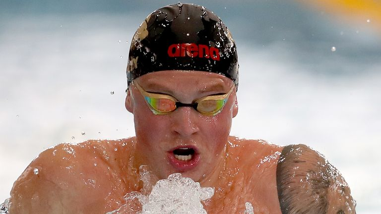 Adam Peaty is aiming to smash the 100m breaststroke world record in Japan