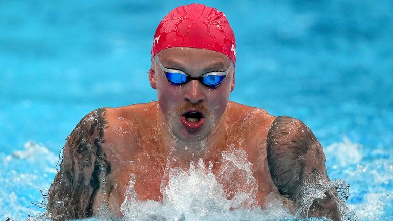 23-time Olympic champion Michael Phelps says he is enjoying watching Adam Peaty, as the Team GB swimmer targets gold in the 100m breaststroke