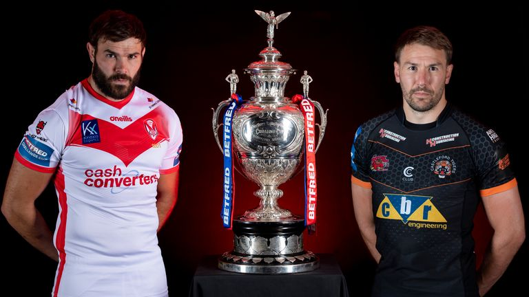 St Helens and Castleford battle it out for glory in the 2021 Challenge Cup final