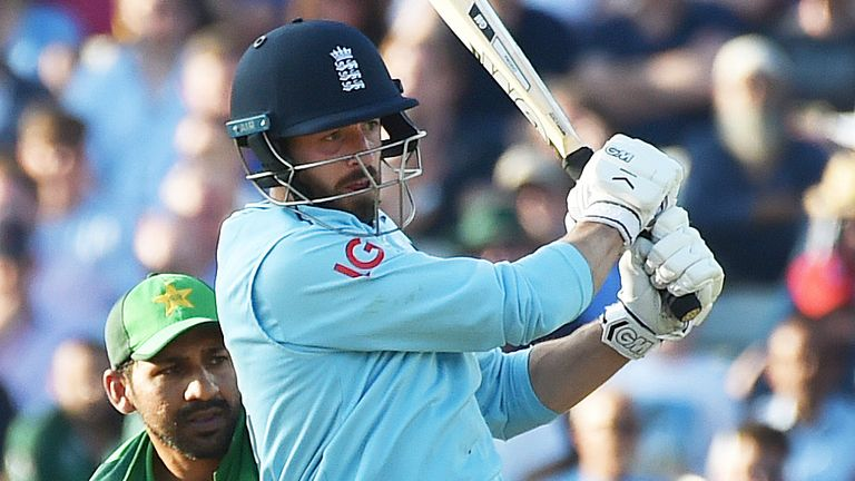 James Vince's scored a superb maiden century for England in the third ODI against Pakistan