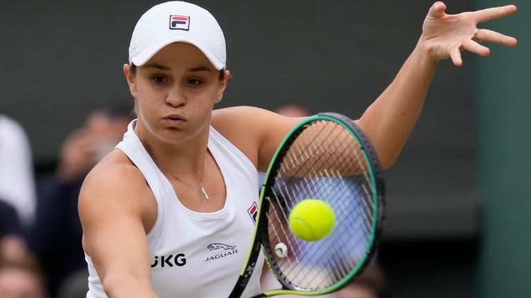 Barty adds the Wimbledon title to her 2019 French Open (AP)