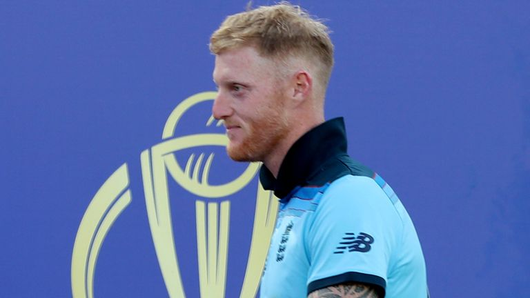 Ben Stokes  helped England to the 50-over Cricket World Cup crown at Lord's in 2019