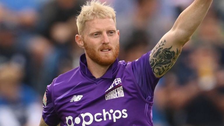 Northern Superchargers captain Ben Stokes took the key wicket of Bairstow