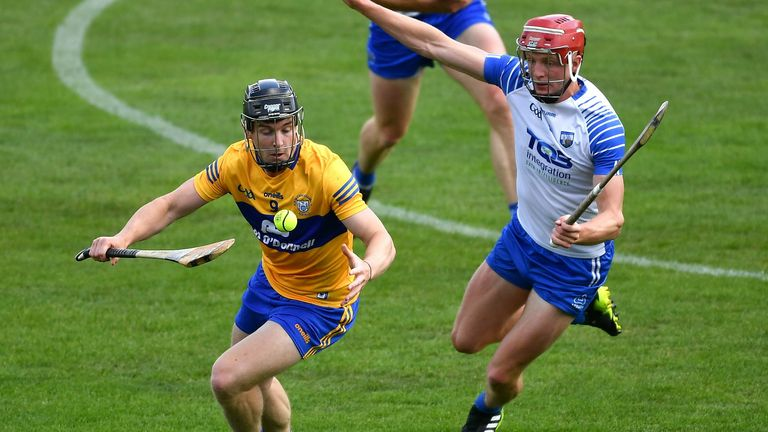 Tony Kelly led the charge for Clare