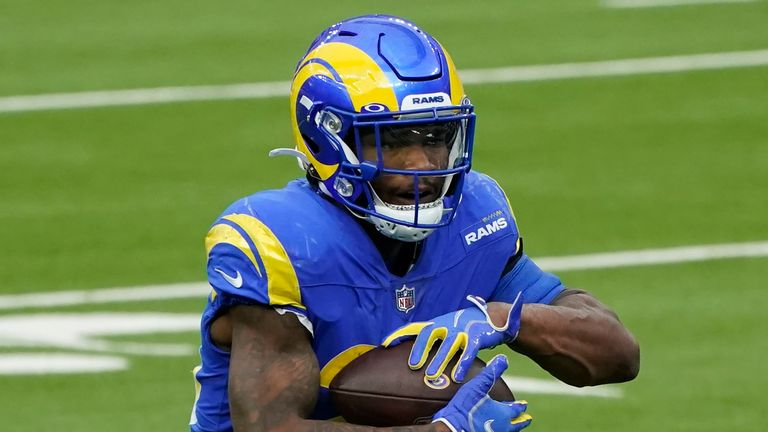 Cam Akers: Los Angeles Rams running back set to miss 2021 season after tearing Achilles apart |  NFL News