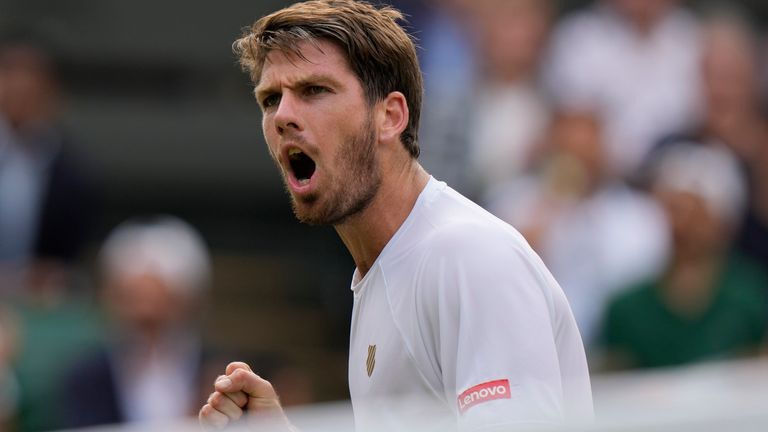 Cameron Norrie is the second-highest male British singles player in the world rankings