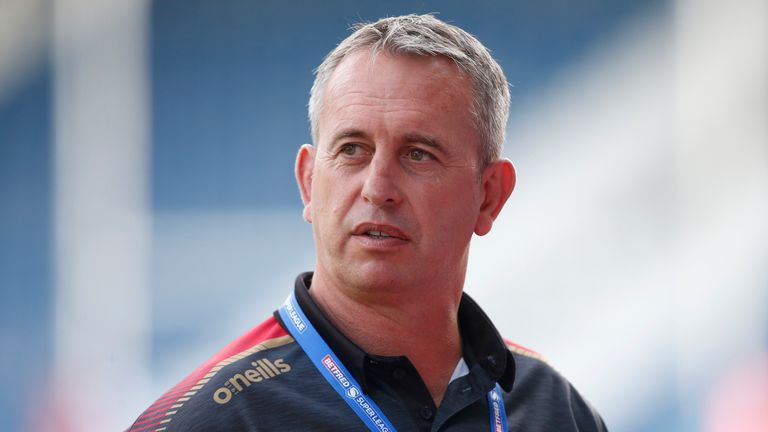 Steve McNamara was named coach of the year after leading the Catalans to a grand opening final