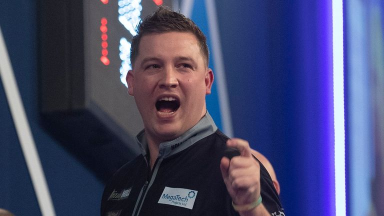 Chris Dobey's persistence paid off as he finally won his first ranking title. Pic: Lawrence Lustig