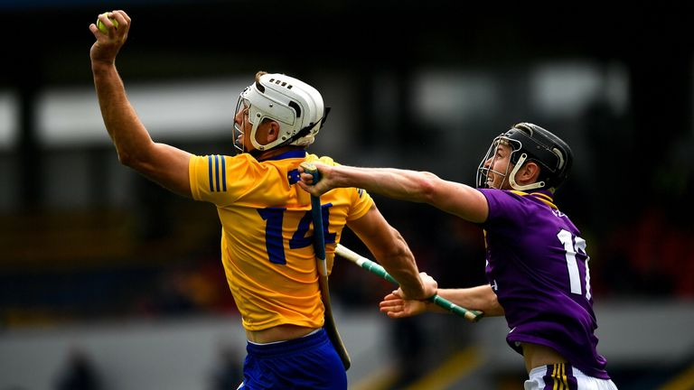 Clare eliminated Wexford in the 2020 championship