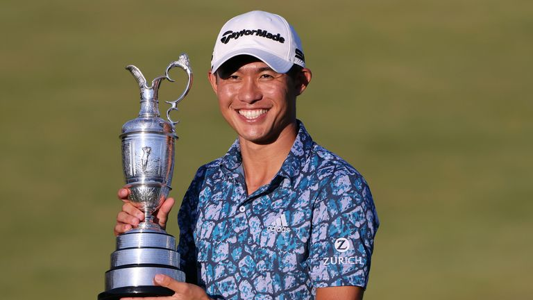 Morikawa is the first player to win two majors at the first attempt