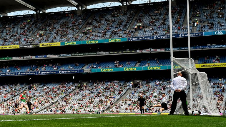 Croke Park will reach close to 50 per cent capacity in August